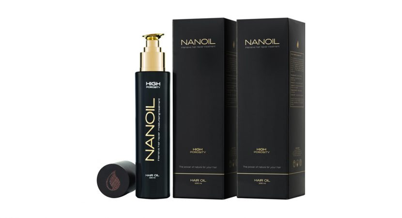 óleo Nanoil para todos os tipos de cabelo