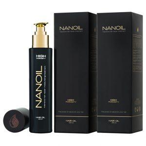 óleo Nanoil rico em substâncias