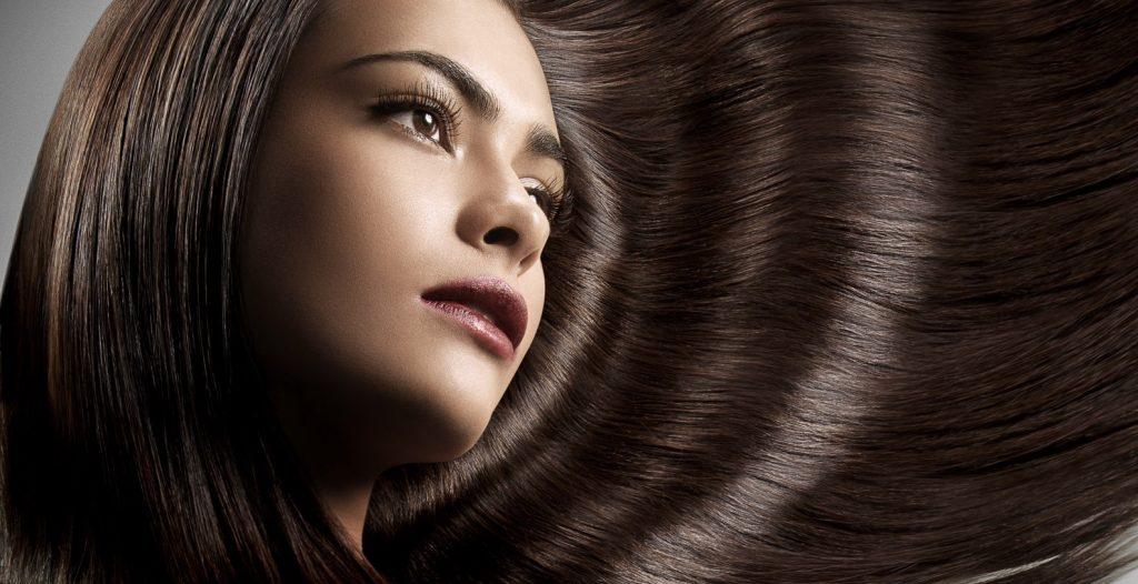 cabelo bonito com óleos